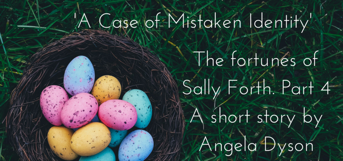 Sally Forth A Case of Mistaken Identity short story angela dyson