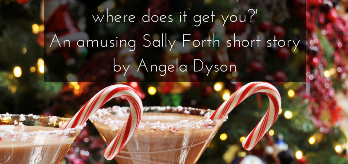 All that Christmas anticipation… where does it get you? Sally Forth short story angela dyson