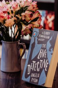 Angela Dyson The Love Detective Waterstones launch