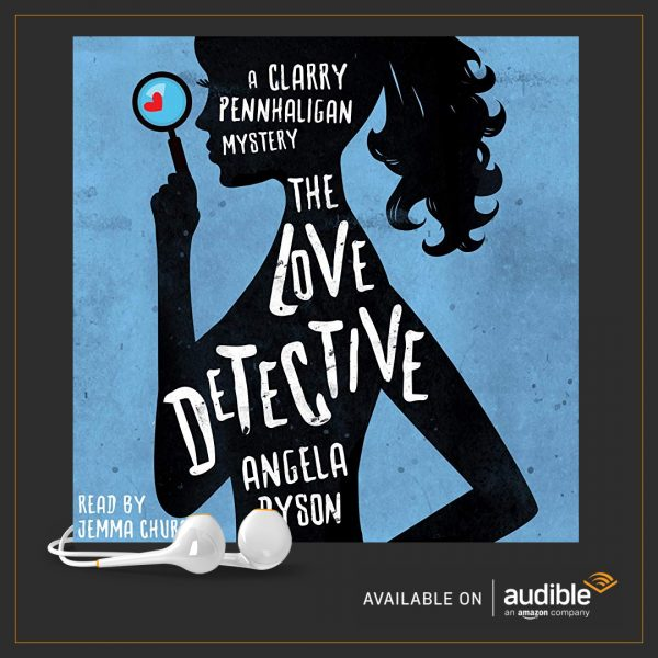 The Love Detective audiobook. Jemima Churchill Angela Dyson