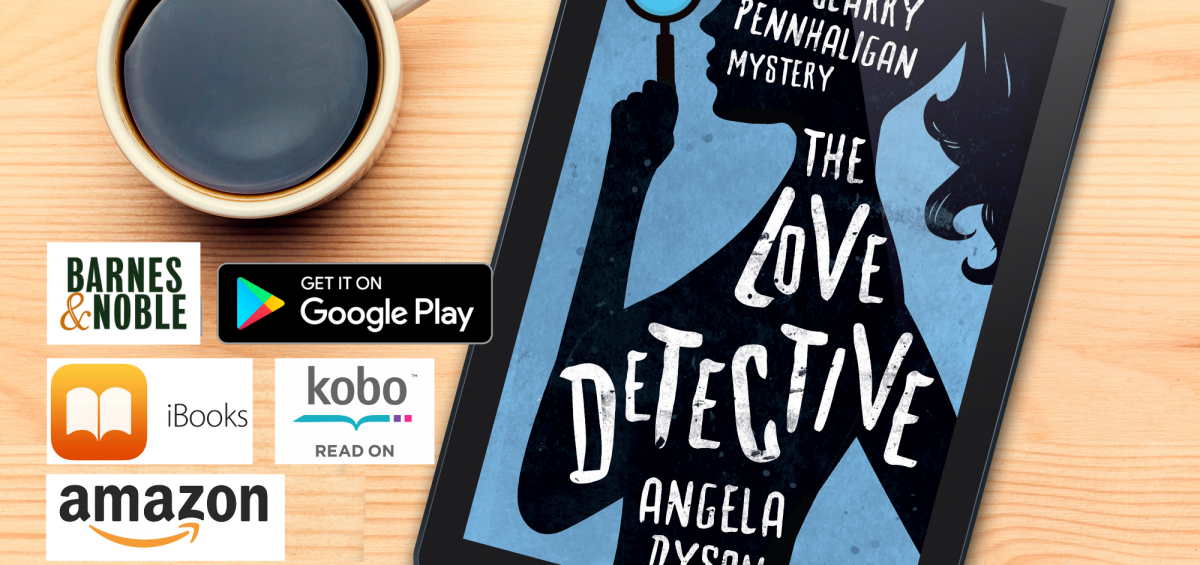 The Love Detective is available at all main eBook retailers